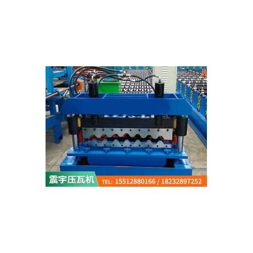 沧州彩钢压瓦机~750横挂压瓦机~厂家定制