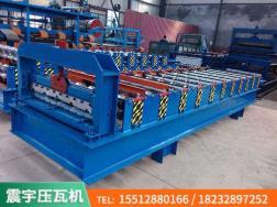 河北彩钢瓦设备|750横挂压瓦机|生产企业