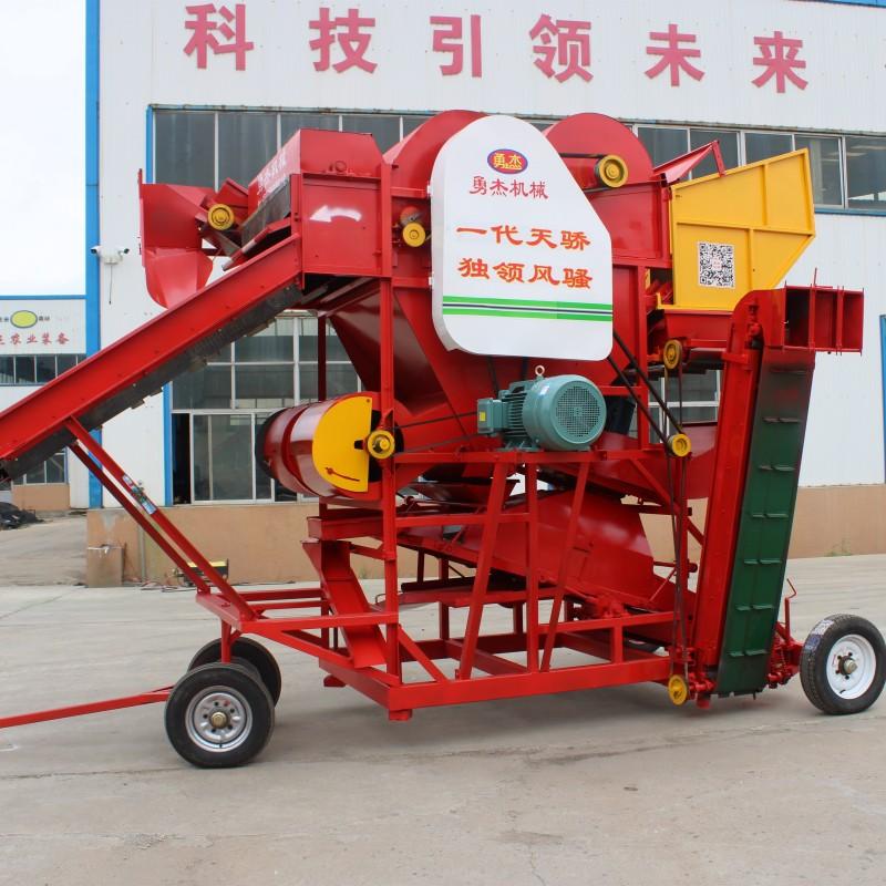排石子花生摘果机 排土花生摘果机厂家 双排杂花生摘果机