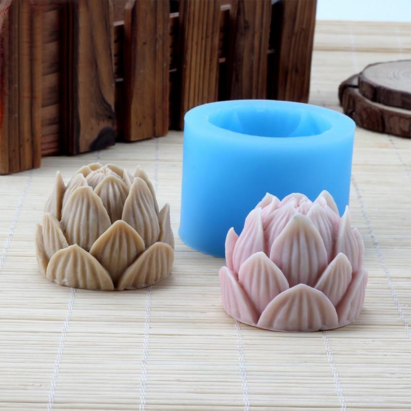 DIY蜡烛模具硅胶 工艺品翻模硅胶