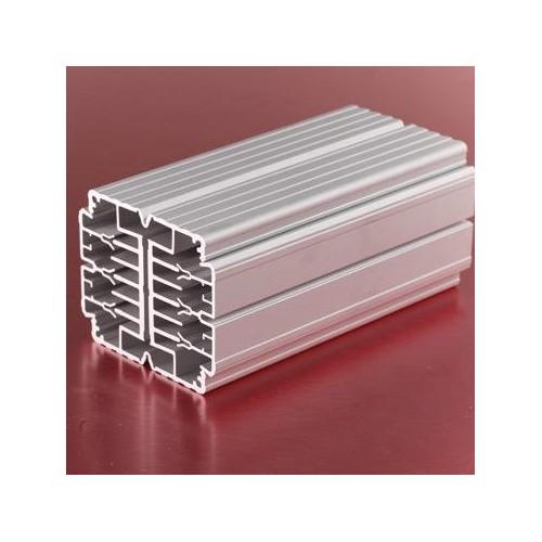 上海鸿叠铝 流水线型材 铝合金框架型材 铝制品加工
