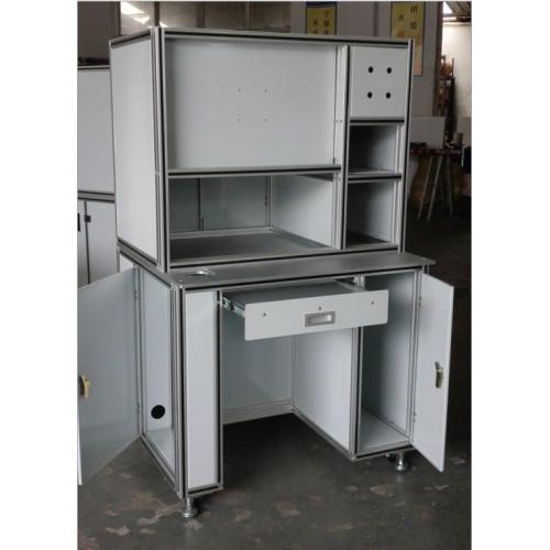 展示架,货架,铝型材,铝制品,仓储笼型材,型材厂家,工作台
