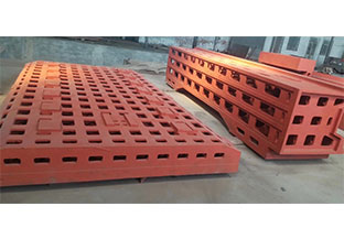 重庆机床工作台哪里买「恒讯达铸造」铸铁工作台一手货源