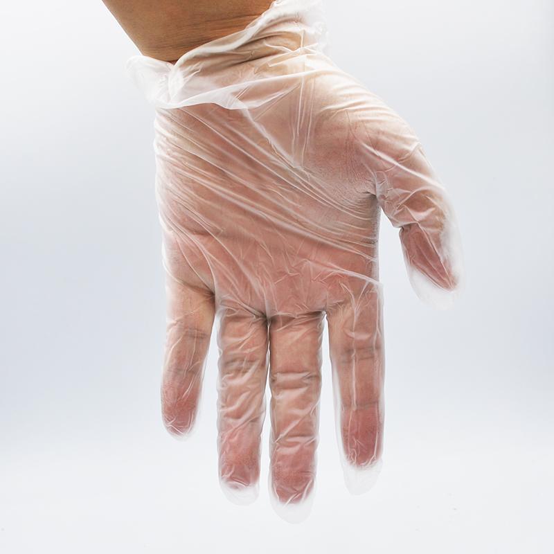 vinyl PVC 一次性手套 民用 食品级 pvc白板厂货