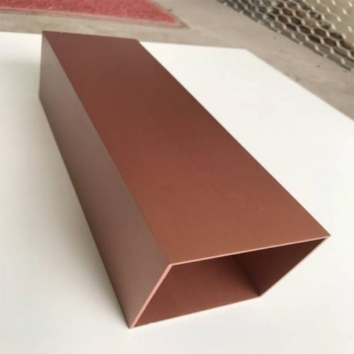 电解氧化着色_拉丝铝方通_阳极氧化型材铝方管
