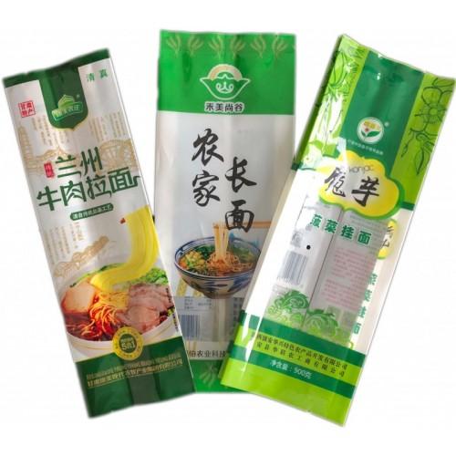 五谷杂粮手工面条背封外塑料品包装袋意面粉丝中封食品包装袋