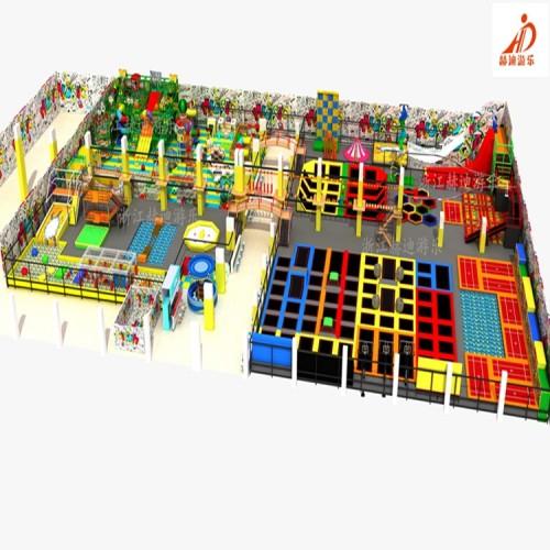 蹦床公园 大型蹦床游乐设备 蹦床厂家 超级组合蹦床 蹦蹦床