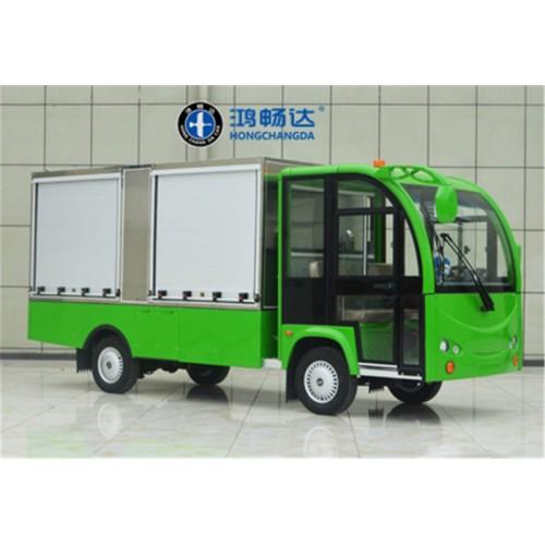 电动送餐车 定制餐车 广东鸿畅达