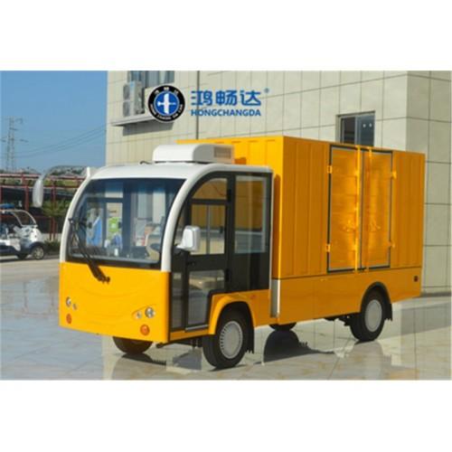 电动厢式货车 电动保温车 电动餐车 广东鸿畅达