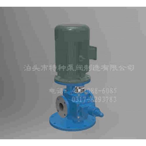 上海齿轮油泵/泊头特种泵阀/YHB-LY系列立式圆弧齿轮泵