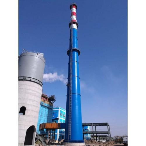 烟囱厂家 烟囱价格 不锈钢烟囱 钛钢复合板烟囱 钢烟囱找林东