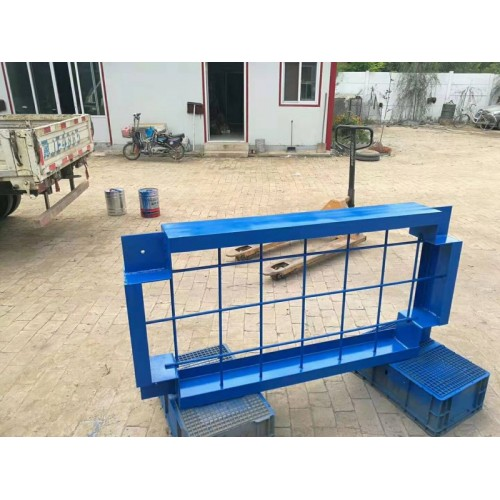 水泵减振台座惰性减振支座水泵专用钢结构隔振台座基座
