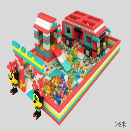 大型EPP积木乐园 室内亲子乐园 淘气堡儿童乐园 淘气堡设备