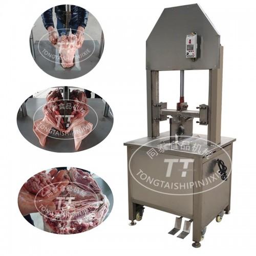 自动液压式牛头劈半机  保留牛脑牛舌完整
