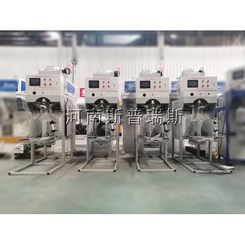 河南半自动包装机,25公斤粉体包装设备