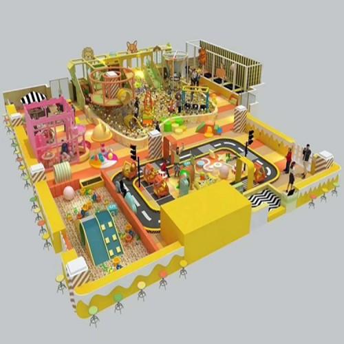 淘气堡室内儿童乐园 室内蹦床 淘气堡厂家 儿童乐园