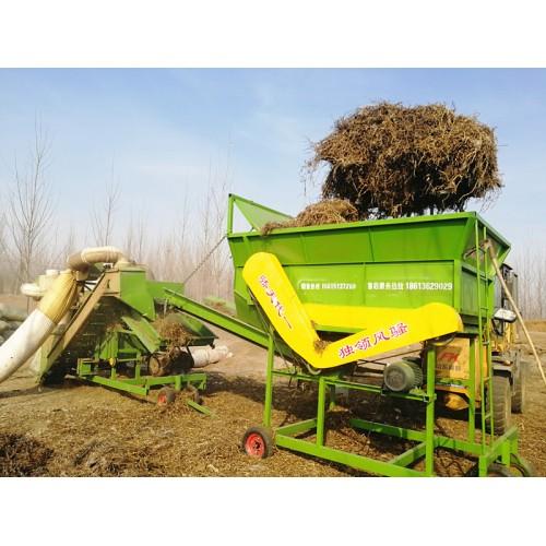 勇杰自动分草机 全自动上料分草设备 无需人工 可接除膜机