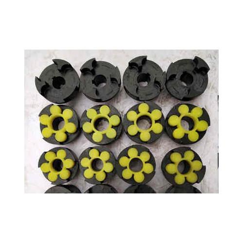 湖南梅花型弹性联轴器生产-巨泽传动制造梅花型弹性联轴器