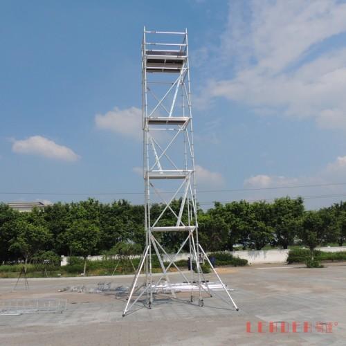 厂家供应9.7米铝合金 盘扣式脚手架 广州铝合金脚手架热销品