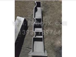 吉林铸钢防撞护栏立柱定制/泊泉机械生产310-570铸钢立柱