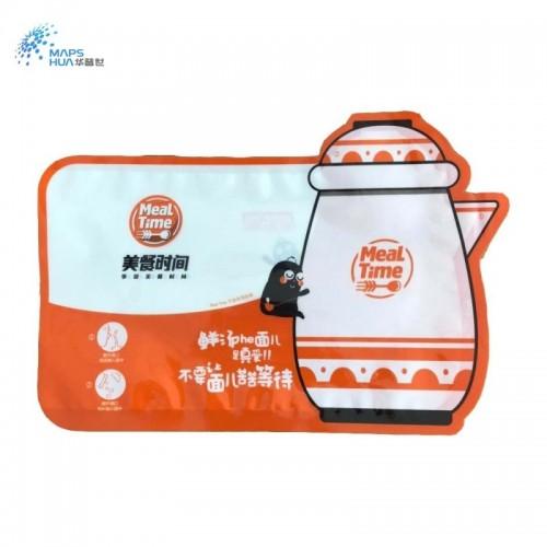 厂家定制尼龙抽真空食品袋三边封异型袋汤面面条包装袋免费设计