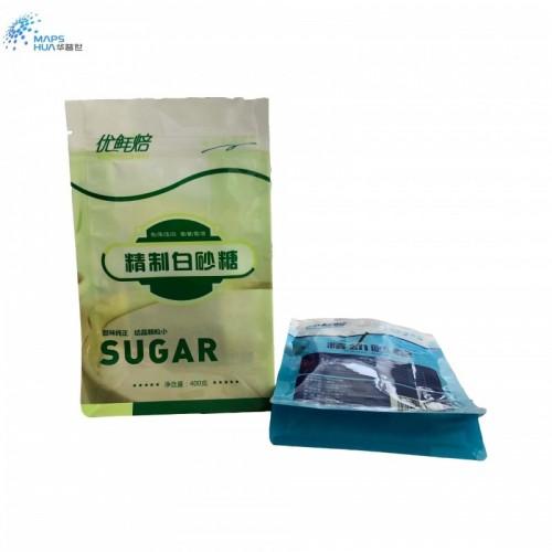厂家定做红糖自立食品包装袋 白砂糖包装袋 拉链白糖袋定制