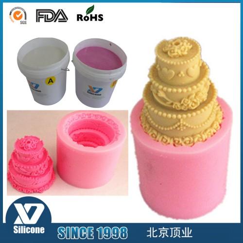 食品硅胶模具 小模具硅胶厂家 加成型1:1液体硅胶