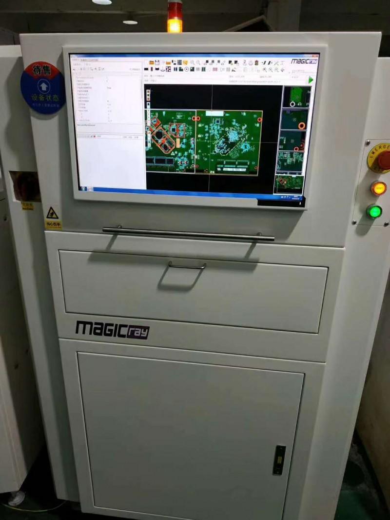 明锐高速度高精度在线式AOI V5000自动光学检查机