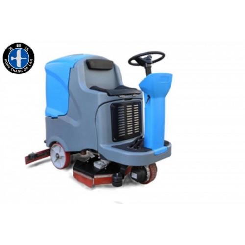 电动驾驶式洗地机 电动洗地机 清理地面油污 内蒙鸿畅达