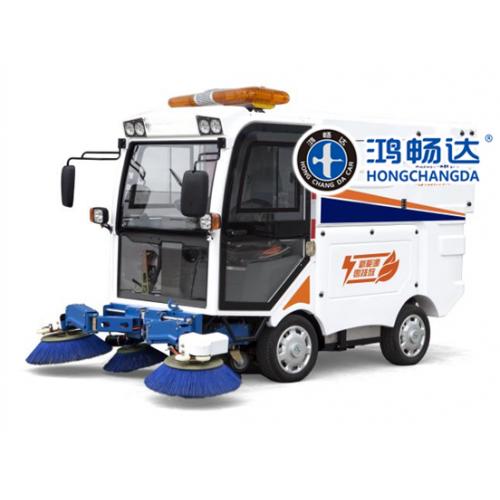 电动清扫车 路面新型清扫车 内蒙鸿畅达