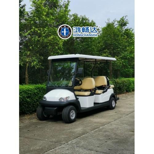 豪华电动高尔夫球车 外观精巧 轻便快捷 驾驶安全舒适