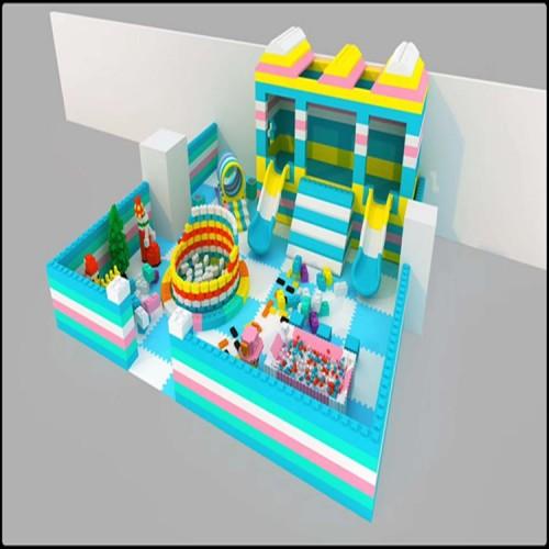 马卡龙淘气堡 EPP积木乐园 室内蹦床 淘气堡设备 儿童乐园