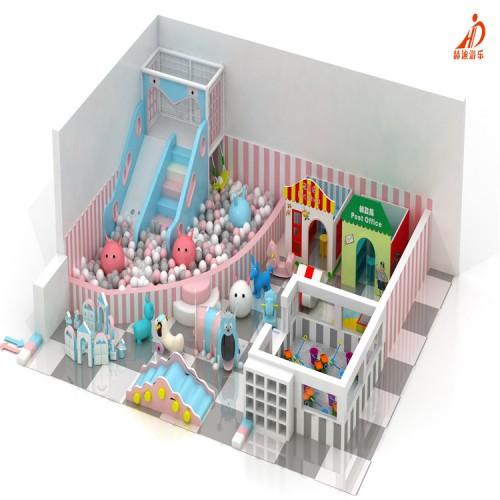 儿童游乐设备 淘气堡儿童乐园 室内蹦床公园 淘气堡设备