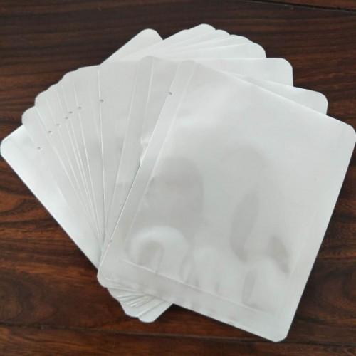 纯铝箔食品包装袋 现货铝箔加厚复合真空袋 面膜茶叶平口袋
