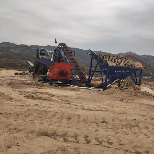 洗砂生产线  制沙生产线  中贝信