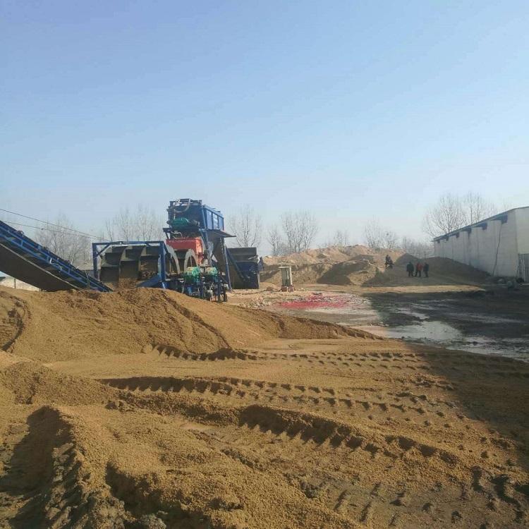 制沙生产线 制砂生产线厂家 中贝信