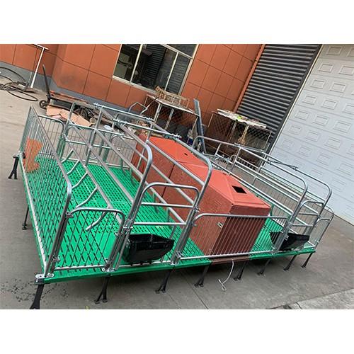 河南郑州双体母猪产床「志航机械」铸铁母猪产床价格