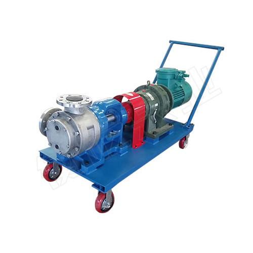 四川成都不锈钢转子泵「衡屹泵业」不锈钢凸轮转子泵报价
