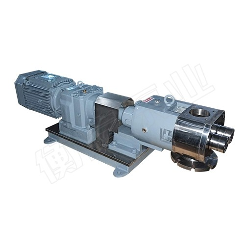 陕西西安凸轮转子泵「衡屹泵业」高粘度/不锈钢转子泵厂家价格