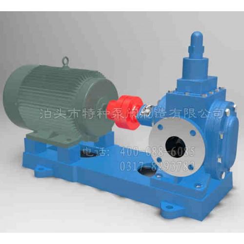 江苏齿轮泵定制_泊头特种泵阀_YHB-Y系列卧式圆弧齿轮泵