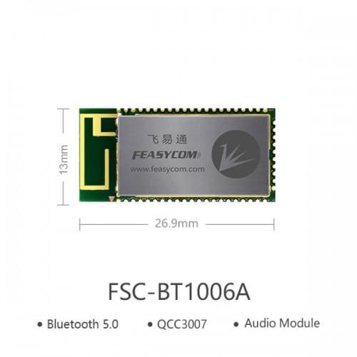 QCC3007 TWS音频蓝牙模块  FSC-BT1006A