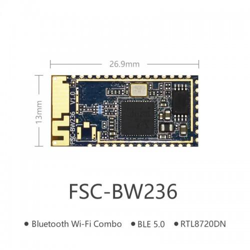蓝牙+双频Wi-Fi SOC模块 | FSC-BW236
