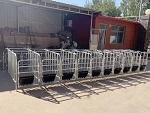 海南「复合板定位栏」生产@志航机械模具母猪定位栏-规格多样