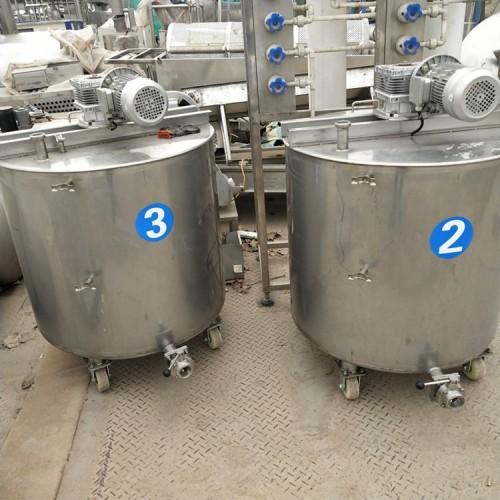 出售4吨二手不锈钢搅拌罐量大从优
