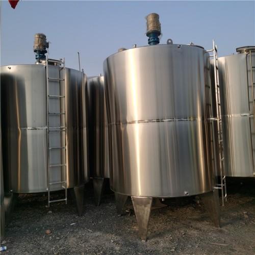 出售4吨二手不锈钢搅拌罐厂家推荐