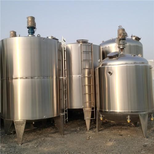 多款10吨不锈钢搅拌罐质量可靠