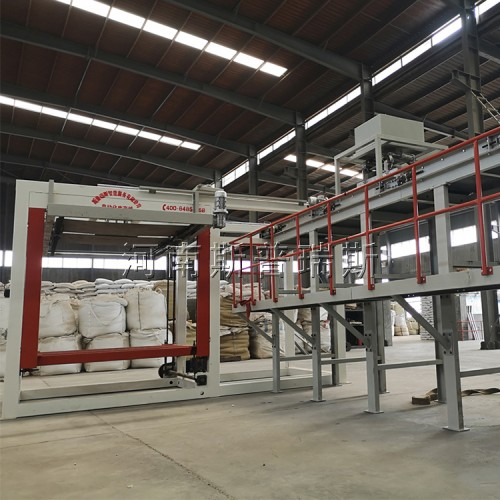 肥料包装码垛自动生产线,包装码垛自动生产线厂商