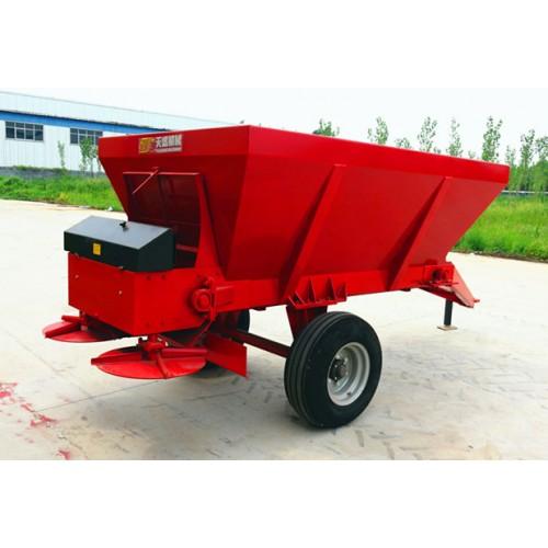 吉林黑龙江五方拖拉机带撒粪机 粪肥施肥机 机械抛粪车