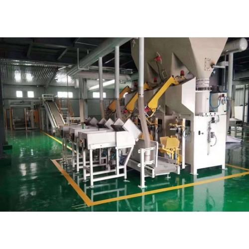 码袋自动包装生产线设备,码垛自动化生产线