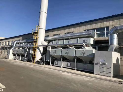 宁夏催化燃烧一体机生产厂家_俊志环保_厂价订制催化燃烧设备